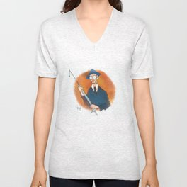 William Burroughs Unisex V-Neck