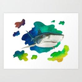 Tiger Shark Art Print