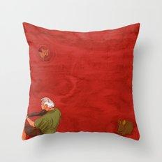 The Marvellous Musician Throw Pillow