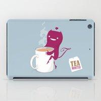 mandie manzano iPad Cases featuring Tea Monster by DWatson