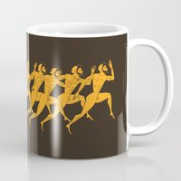greece Mugs featuring Ancient Greece by ispman