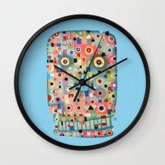 My Skull Wall Clock