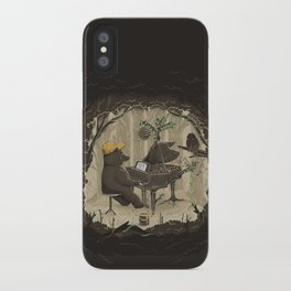 Forestal Sounds iPhone Case