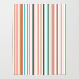 WHY CAN'T BARCODES BE COLORFUL? Poster