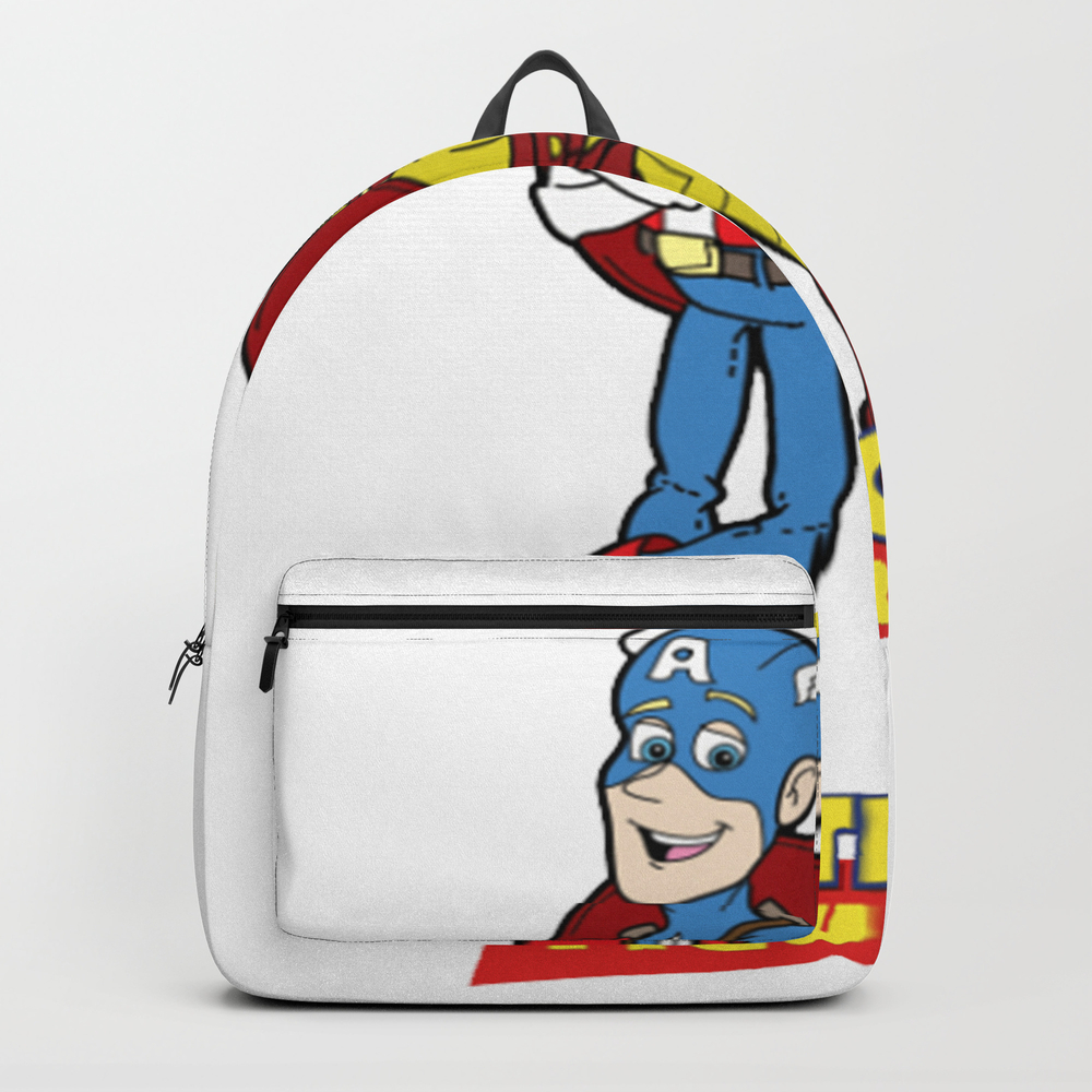 Action Figures Backpack by Moahihiheo BKP7756853