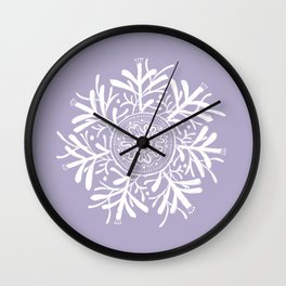 Complicated Flower XII Wall Clock