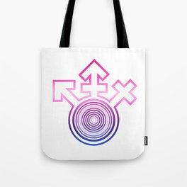 Universal Gay Pride LGBT Bisexual Symbol Tote Bag