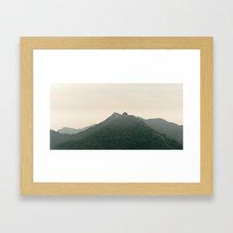 Ridge Framed Art Print