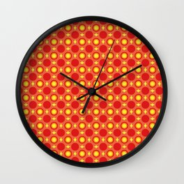 Geometric Abstract Wall Clock