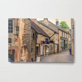 Downtown In The Cotswolds Metal Print