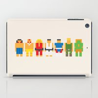 street fighter iPad Cases featuring Street Fighter   Mini Pikzels by sknny