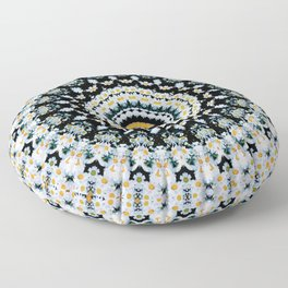 Just Because Nothingness Mandala Floor Pillow