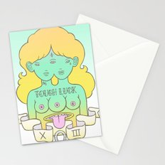 tough luck Stationery Cards