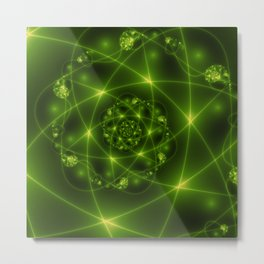Fractal The Hope And The Light Metal Print