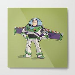 Toy Story :: Buzz Lightyear Metal Print
