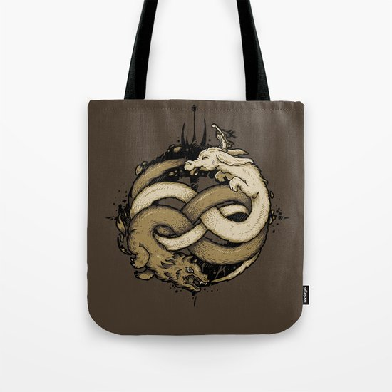 NEVERENDING FIGHT Tote Bag