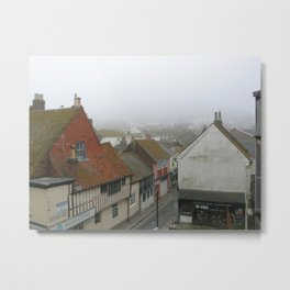 Hastings Old Town from the Jenny Lind Metal Print