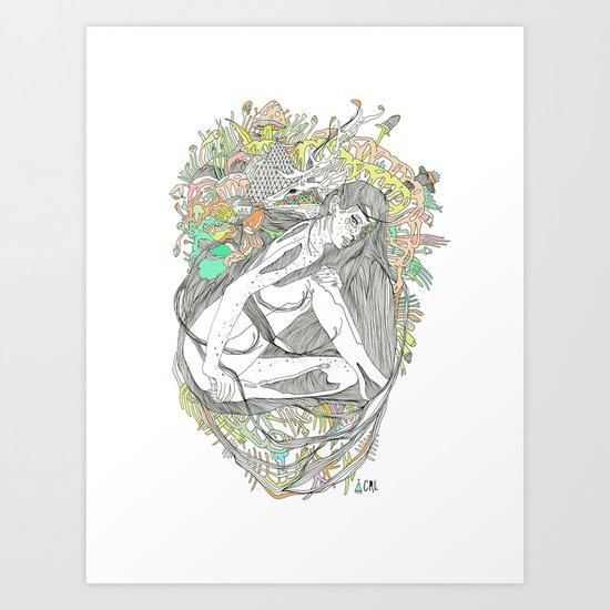 colour blind IV Art Print