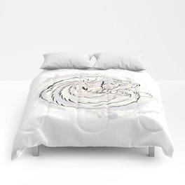 cat cosmos Comforters