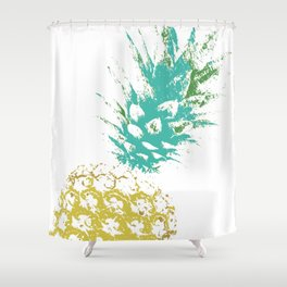 Pinnaple delight Shower Curtain
