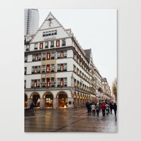 german Canvas Prints featuring German. by Snow & Sonder