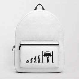 Born To Become A Mechanic Backpack
