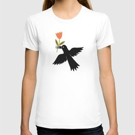 the bird gift T-shirt