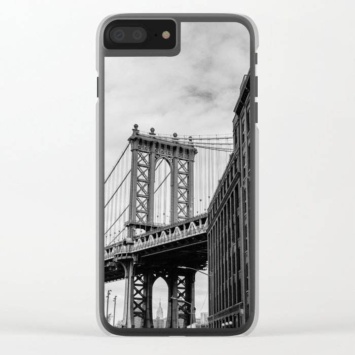 New York Love Clear iPhone Case