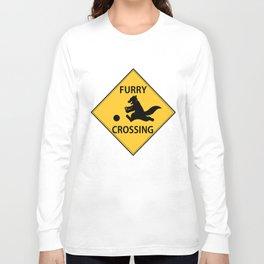 Furry crossing Long Sleeve T-shirt