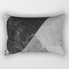 Marble and Granite Abstract Rectangular Pillow