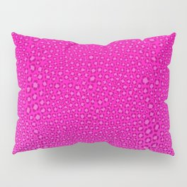 Wild Thing Hot Pink Leopard Print Pillow Sham