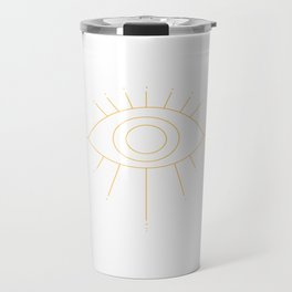 All seeing all knowing Travel Mug