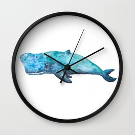 Atlas The Whale Wall Clock