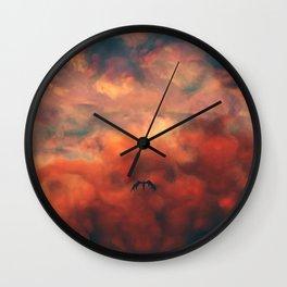 Angelic Descent Wall Clock
