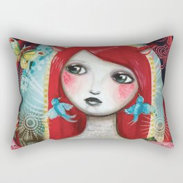 Alice's on Stage by CJ Metzger Rectangular Pillow