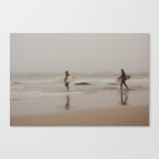 Come on in, the Water's Just Fine... Canvas Print