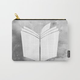 Watercolour Book (Grey) Carry-All Pouch