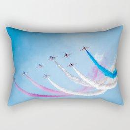 The Red Arrows Rectangular Pillow