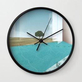 atmosphere 26 · Floodland Wall Clock