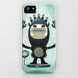 Alien Guard iPhone Case