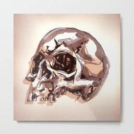 Ragged Skull Metal Print