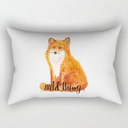 wild thing - fox Rectangular Pillow