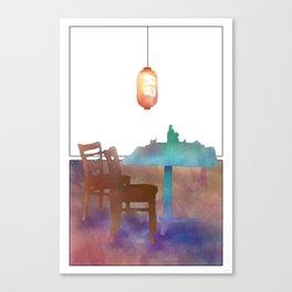 Tokyo Express Canvas Print