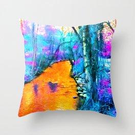 Big Chico Creek 2 Throw Pillow