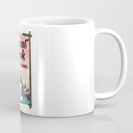 Mount Cook New Zealand travel poster Coffee Mug