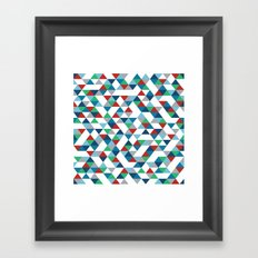 Triangles #3 Framed Art Print