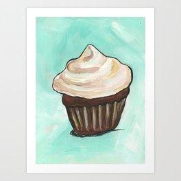 cupcake love Art Print