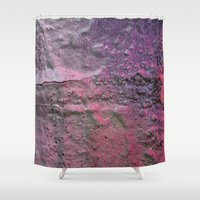 rave Shower Curtains featuring Rave by Calle de Rosa