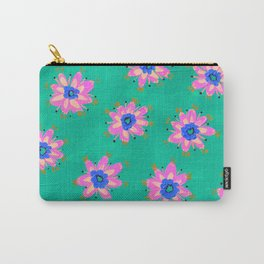 Key West Rose Carry-All Pouch