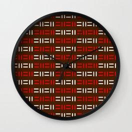 Pattern simple mazes Wall Clock